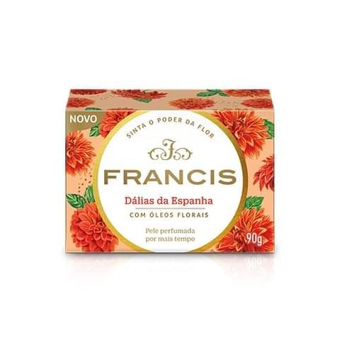 Imagem de Sabonete em barra uso diário francis 90g clássico laranja