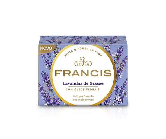 Imagem de Sabonete em barra uso diário francis 90g clássico lilás