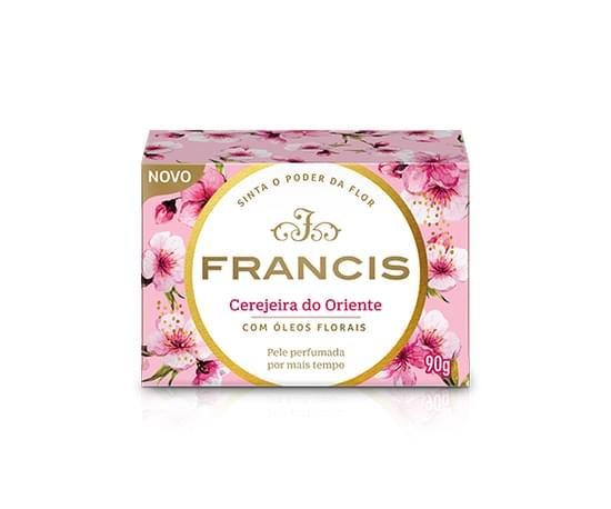 Imagem de Sabonete em barra uso diário francis 90g clássico rosa