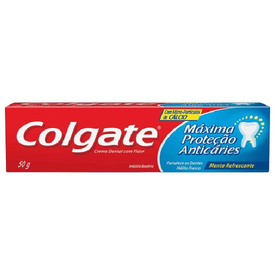 Imagem de Creme dental tradicional colgate 50g maxima proteção anticaries