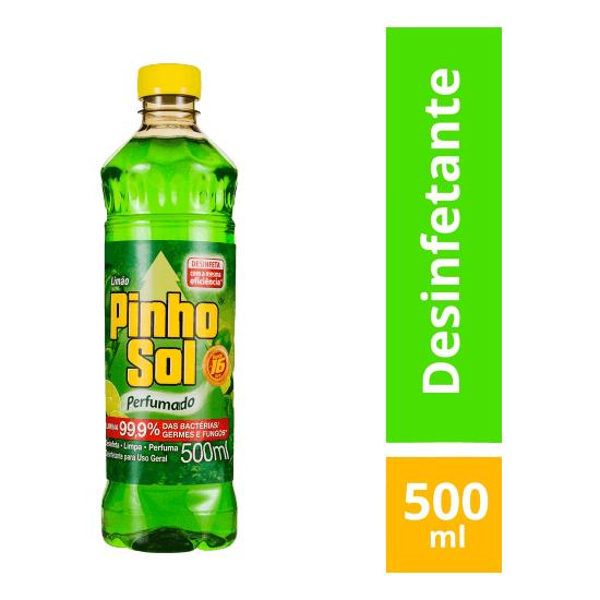 Imagem de Desinfetante líquido pinho sol 500ml citrus limão