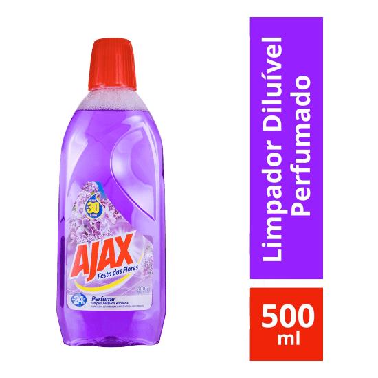 Imagem de Limpador perfumado ajax 500ml lavanda