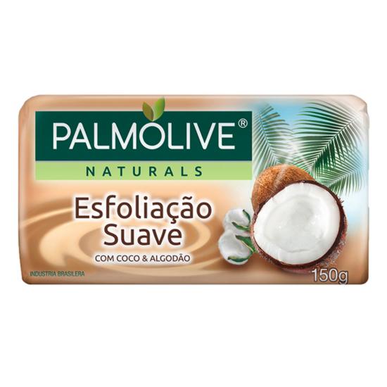 Imagem de Sabonete em barra uso diário palmolive 150g coco e algodão