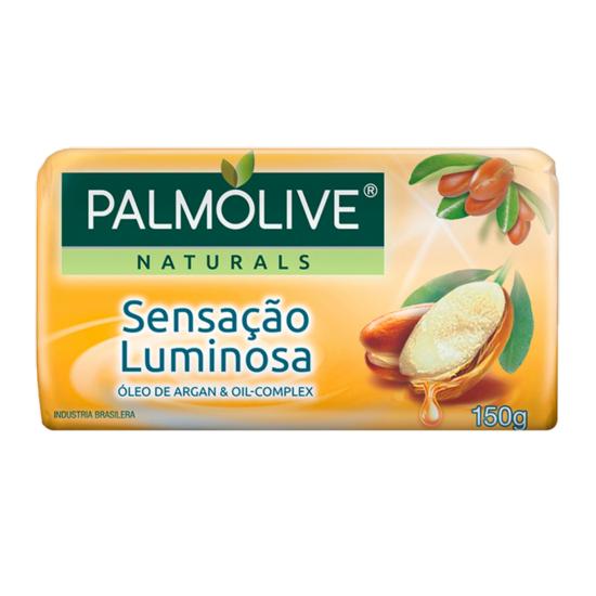Imagem de Sabonete em barra uso diário palmolive 150g óleo argan