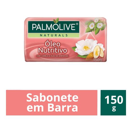 Imagem de Sabonete em barra uso diário palmolive 150g óleo nutritivo