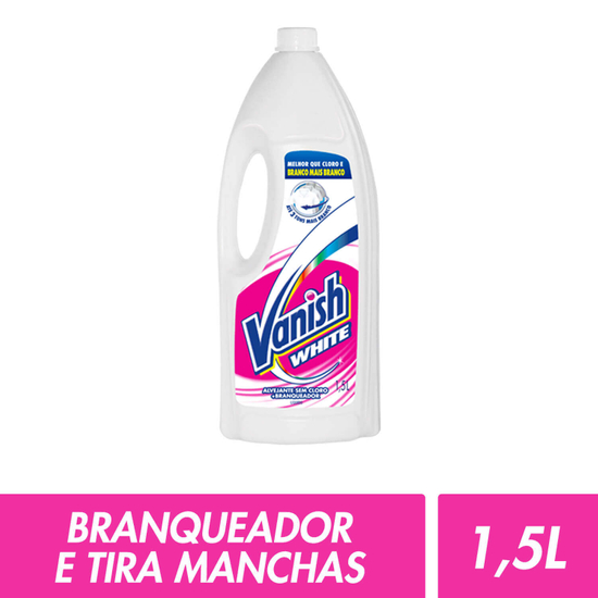Imagem de Alvejante sem cloro vanish 1,5l white