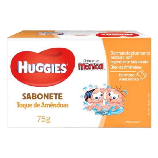 Imagem de Sabonete em barra infantil turma da mônica 75g toque de amendoas