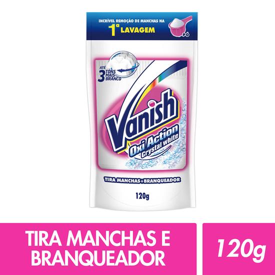 Imagem de Alvejante sem cloro vanish 120g white sache