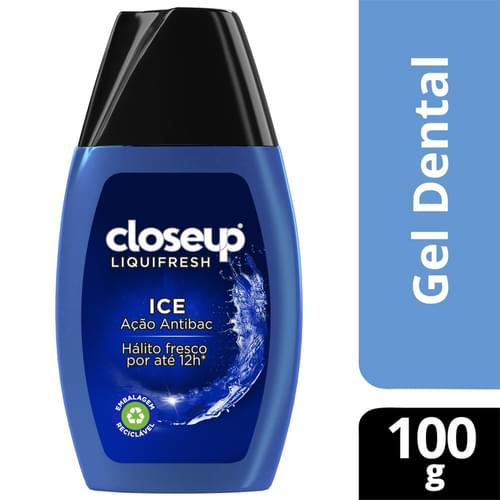Imagem de Creme dental gel close-up 100g ice