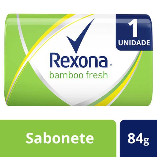 Imagem de Sabonete em barra uso diário rexona 84g bamboo fresh