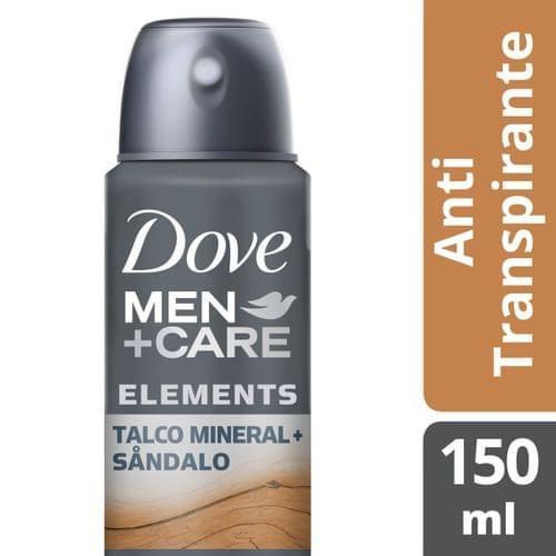 Imagem de Desodorante aerosol dove 150ml masc talco+sandalo