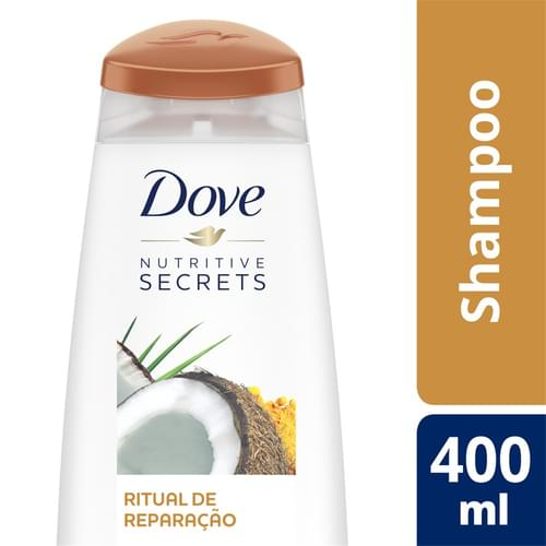 Imagem de Shampoo uso diário dove 400ml ritual de reparacao