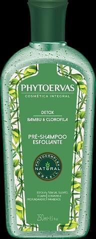 Imagem de Shampoo uso diário phytoervas 250ml detox pré shampoo