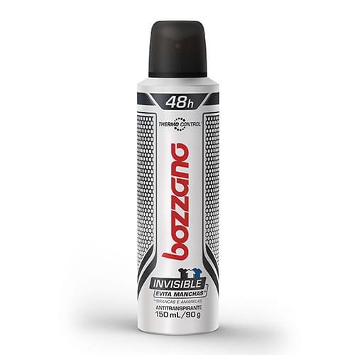 Imagem de Desodorante aerosol bozzano 150ml invisivel thermo