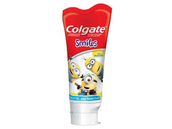 Imagem de Creme dental tradicional colgate 100g smiles minions