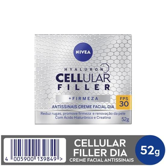 Imagem de Creme facial anti-idade nivea 52g cellular dia fps30