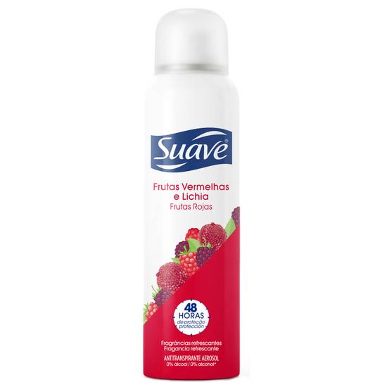Imagem de Desodorante aerosol suave 87g fem frutas rojas