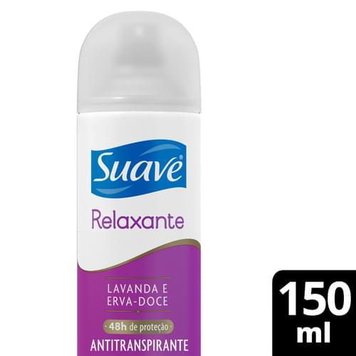 Imagem de Desodorante aerosol suave 87g fem lavanda e erva doce