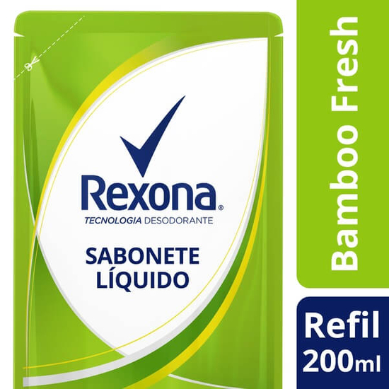 Imagem de Sabonete líquido refil rexona 200ml bamboo fresh