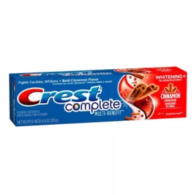 Imagem de Creme dental terapeutico crest 170g complete cinnamon rush