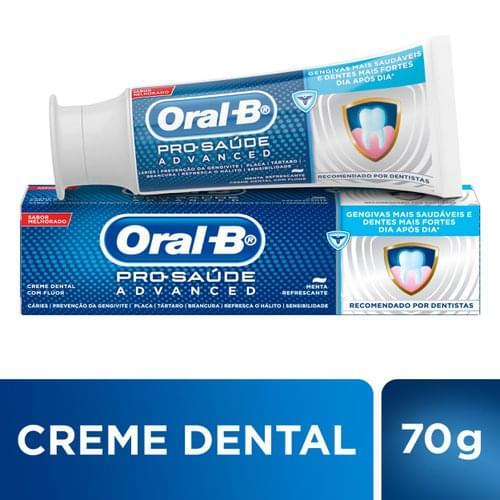 Imagem de Creme dental terapeutico oral-b 70g pro-saude advanced