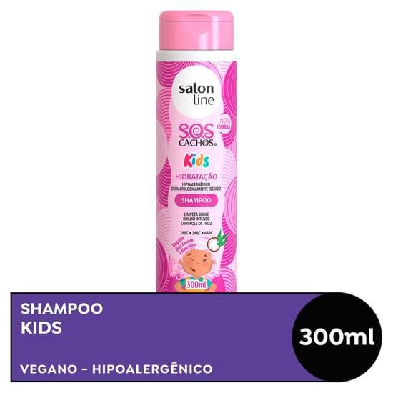 Imagem de Shampoo infantil salon line 300ml sos kids