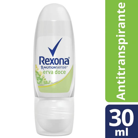 Imagem de Desodorante roll-on rexona 30ml erva doce