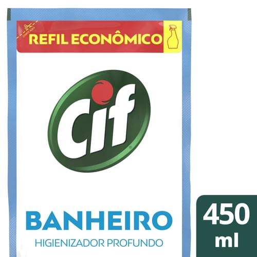 Imagem de Limpador de banheiro cif 450ml sem cloro ultra rapido doyp