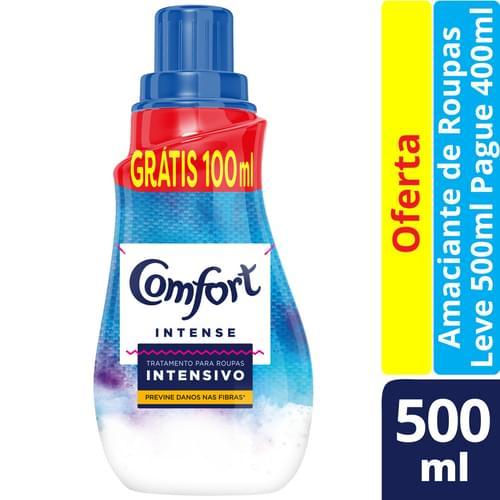 Imagem de Amaciante concentrado comfort l500p400ml cuidados essenciais