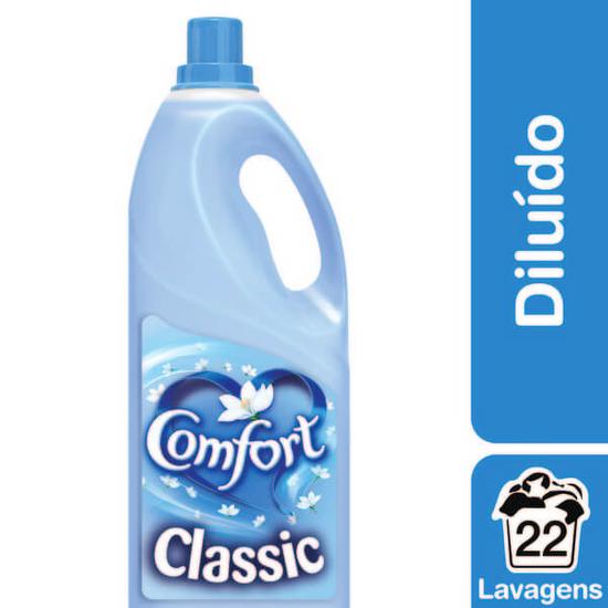 Imagem de Amaciante líquido comfort 2l classic