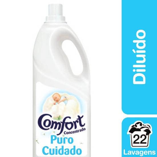 Imagem de Amaciante líquido comfort 2l puro cuidado