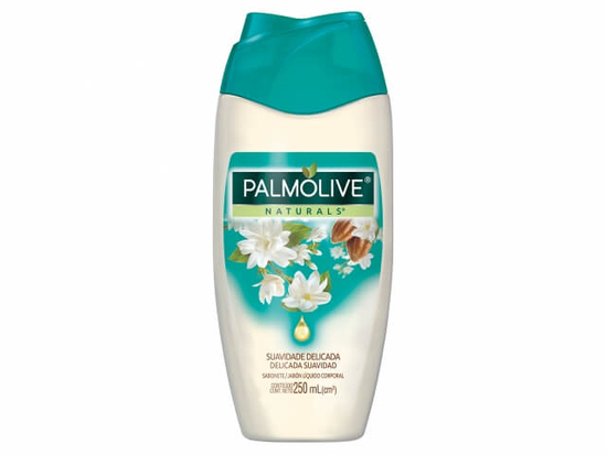 Imagem de Sabonete líquido uso diário palmolive 250ml suavidade delicada jasmim