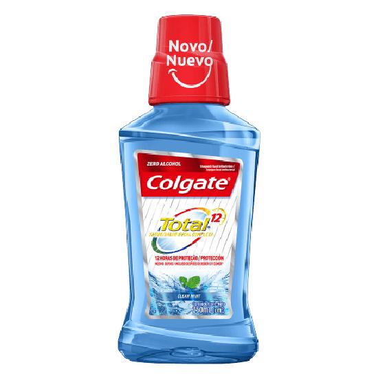 Imagem de Enxaguatório antisséptico colgate 250ml total 12 clean mint