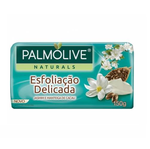 Imagem de Sabonete em barra uso diário palmolive 150g esfoliação delicada jasmim