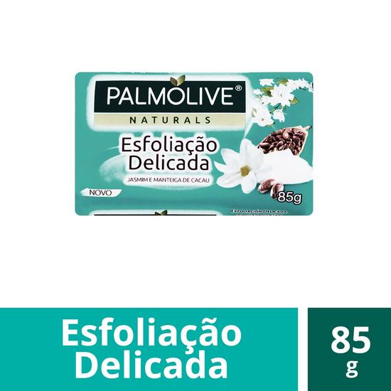 Imagem de Sabonete em barra uso diário palmolive 85g esfoliação delicada jasmim
