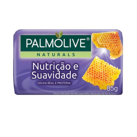 Imagem de Sabonete em barra uso diário palmolive 85g geleia real e proteinas