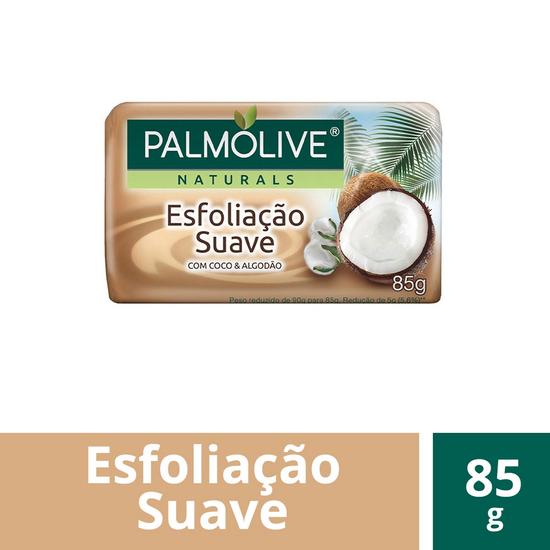 Imagem de Sabonete em barra uso diário palmolive 85g coco e algodão