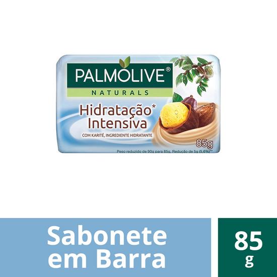 Imagem de Sabonete em barra uso diário palmolive 85g karité