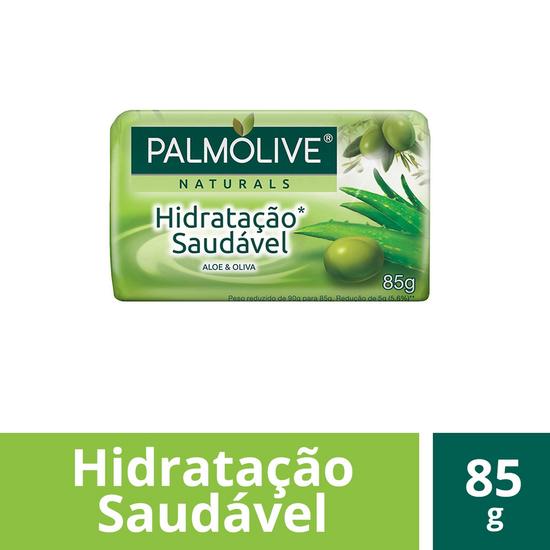 Imagem de Sabonete em barra uso diário palmolive 85g aloe e oliva