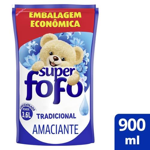 Imagem de Amaciante concentrado fofo 900ml tradicional doyp refil