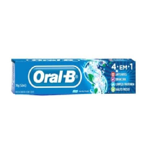 Imagem de Creme dental tradicional oral-b 70g 4 em 1