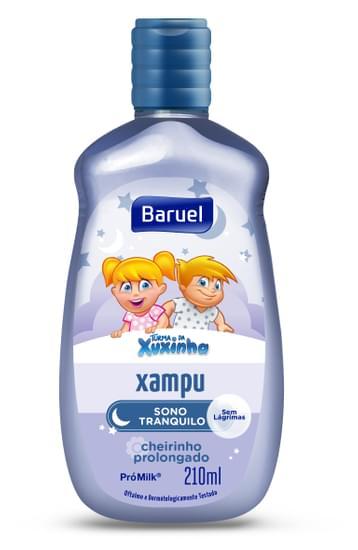 Imagem de Shampoo infantil turma da xuxinha 210ml sono tranquilo
