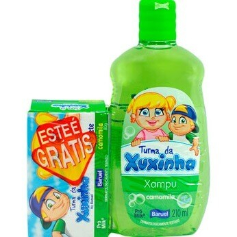 Imagem de Shampoo infantil turma da xuxinha 210ml camomila