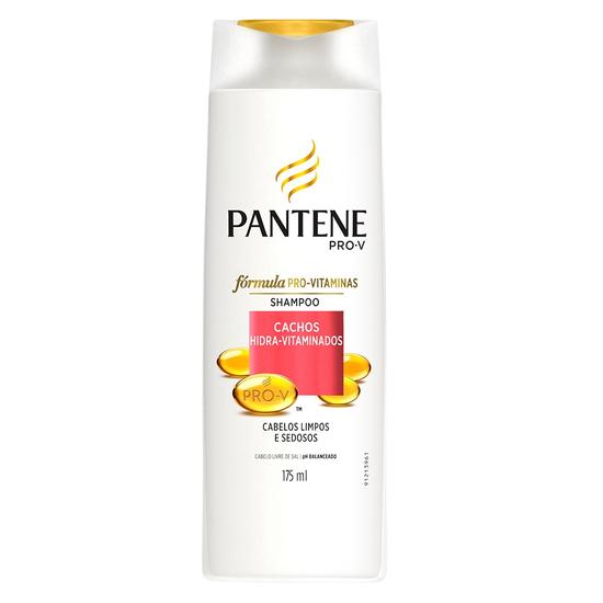 Imagem de Shampoo uso diário pantene 175ml cachos hidra-vit
