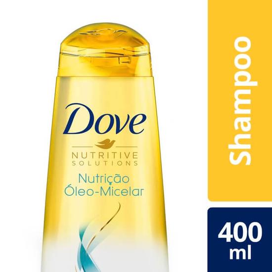 Imagem de Shampoo uso diário dove 400ml nutricao oleo micelar