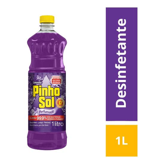 Imagem de Desinfetante líquido pinho sol 1l lavanda