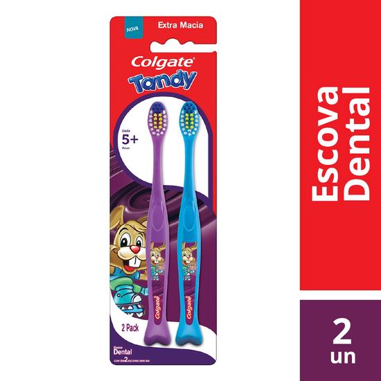 Imagem de Escova dental infantil colgate tandy