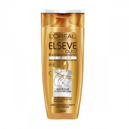 Imagem de Shampoo uso diário elséve 400ml óleo extraordinário cachos