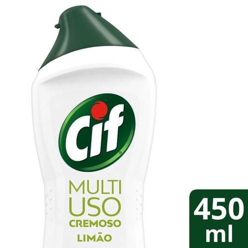 Imagem de Saponáceo de limpeza cif 500ml limão