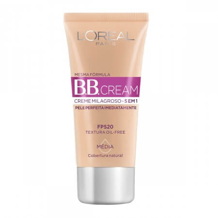 Imagem de Base bb cream loréal 30ml media fps 20